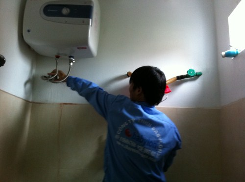 sửa chữa bình nóng lạnh tại hà nội