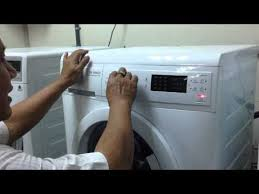 sửa chữa máy giặt electrolux model