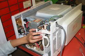 sửa lò vi sóng không quay đĩa