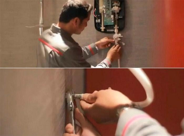 sửa chữa bình nóng lạnh trực tiếp