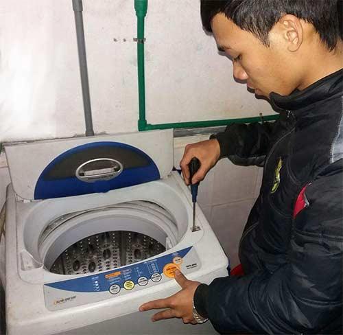 sửa máy giặt AQUA