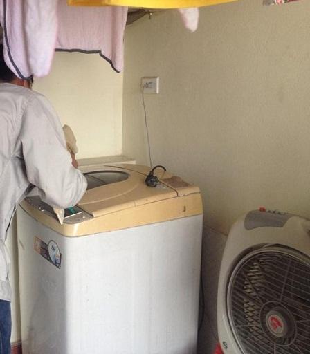 Chia sẻ của khách hàng sử dụng dịch vụ sửa máy giặt samsung.3