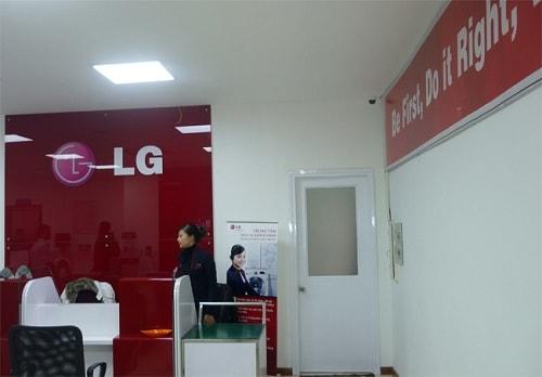 trung tâm bảo hành máy giặt LG