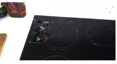 Sửa bếp từ bị vỡ kính