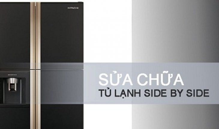 sửa tủ lạnh side by side
