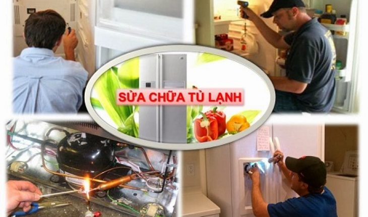 Sửa tủ lạnh side by side Sam Sung