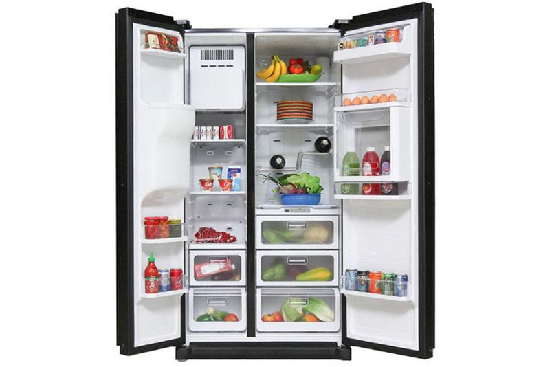 Kích thước tủ lạnh side by side 2 cánh