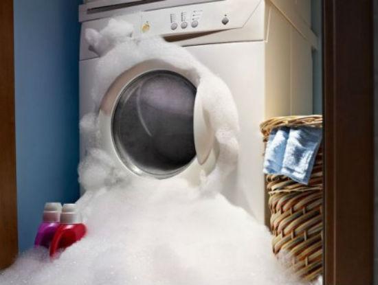 máy giặt Sharp bị rò rỉ nước