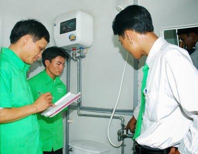 sửa chữa bình nóng lạnh tại thanh nhàn