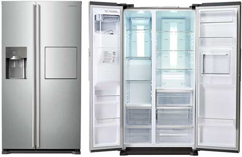 sửa chữa tủ lạnh side by side samsung