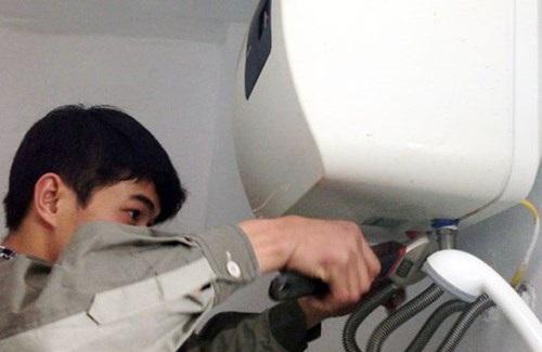 sửa chữa bình nóng lạnh tại âu cơ