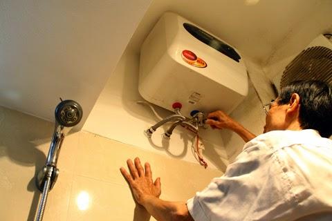 sửa bình nóng lạnh tại thụy khuê