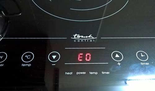 Bảng mã lỗi của bếp từ