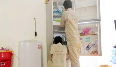 vệ sinh tủ lạnh toshiba