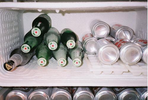 nổ tủ lạnh do rượu